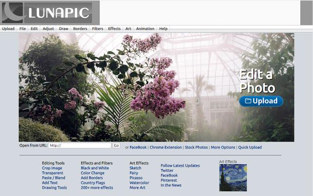 LunaPic - Online Photo Editor