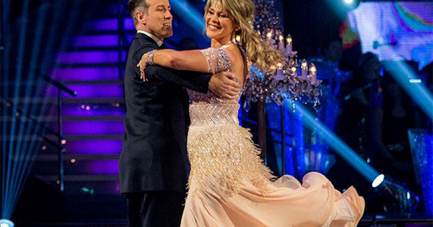 Ruth Langsford forgot her Strictly Come Dancing routine