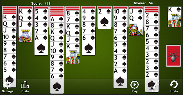 Spider Solitaire 9