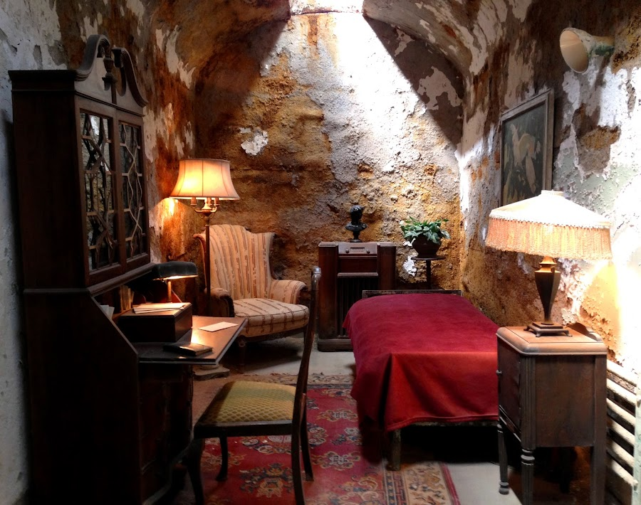 Al Capone's Cell by Patty Hartigan - Buildings & Architecture Decaying & Abandoned ( interior, building, prison, cell, decay,  )