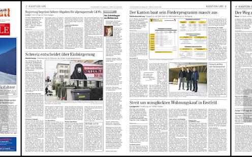 Urner Wochenblatt - náhled