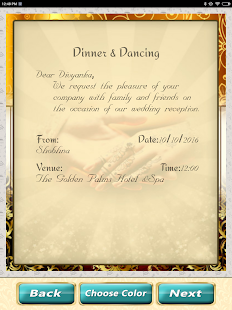 Wedding invitation cards maker marriage card app android apps on wedding invitation cards maker marriage card app screenshot thumbnail stopboris Choice Image