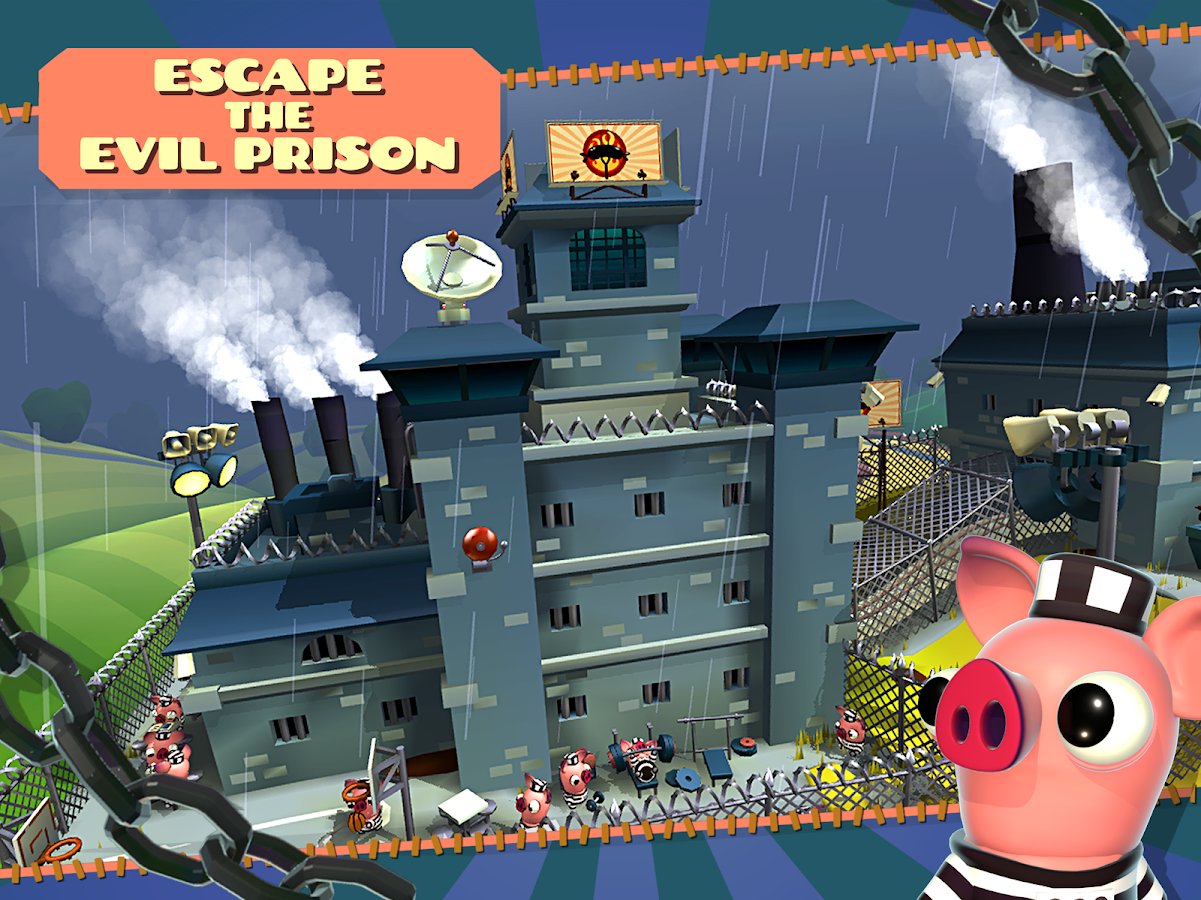 Bacon Escape- screenshot