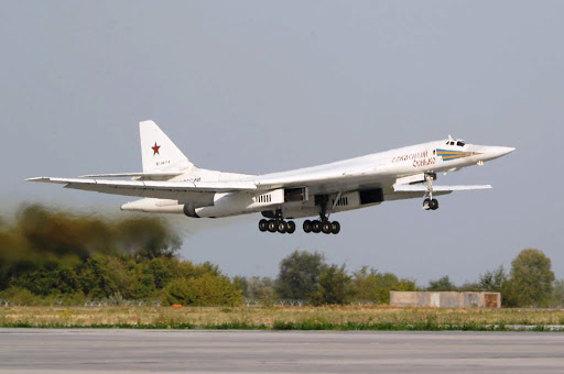 Russia's 'Blackjack' bombers arrive at Waterkloof air base