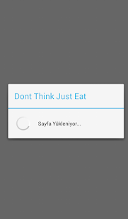 Dont Think Just Eat- screenshot thumbnail