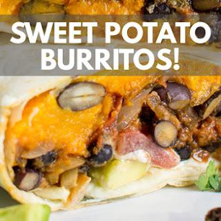 Sweet Potato Burritos Recipe