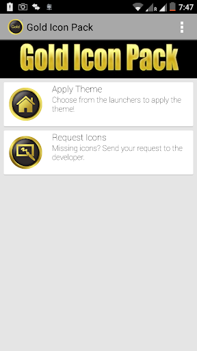 New Gold Icon Pack Free