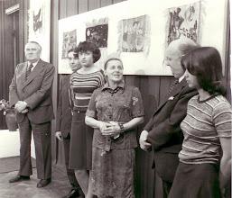 Photo: Prezentacja prac przeznaczonych do Centrum Zdrowia Dziecka w Warszawie 1976