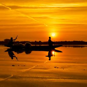 by Amritakshya Dey - Landscapes Sunsets & Sunrises