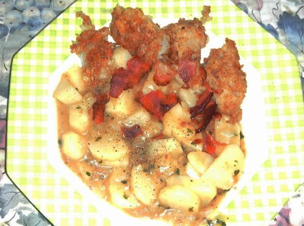 Fish & Potato Sweet & Sour -skillet From Germany
