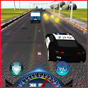 Police Car Racing in City 3D icon