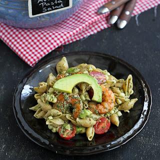 Shrimp, Corn & California Avocado Pasta Salad