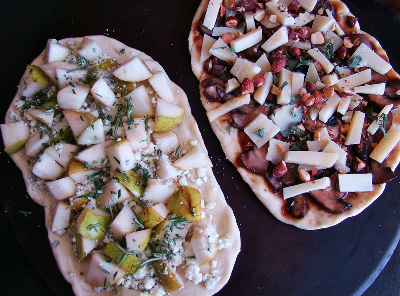 10 best gourmet flatbread pizzas recipes. Black Bedroom Furniture Sets. Home Design Ideas