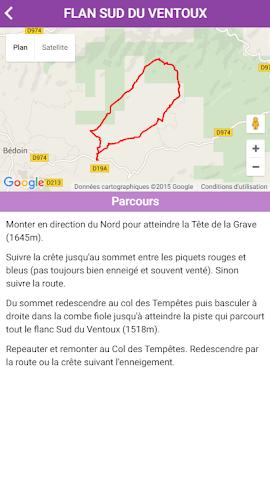 android Le Ventoux Screenshot 2