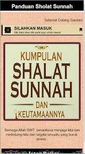 Panduan Sholat Sunnah Lengkap - náhled
