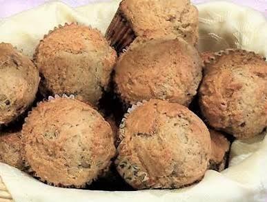 Honey Glistened Banana Bread Muffins Recipe