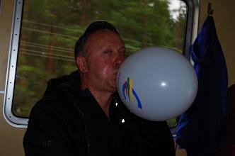 Photo: Dar turėjom likusių balionų