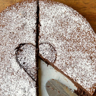 Craig Claiborne's Flourless Chocolate Mousse Cake.
