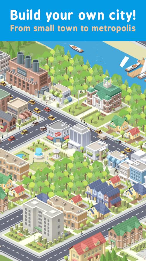Screenshot 1 Pocket City 1.1.231 APK MOD PAID