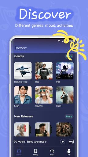 GO Music - Offline & online music, free MV, MP3 4.6.0 Screenshots 3