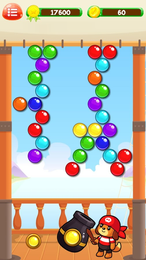 Bubbleys Bubble Shooter- screenshot