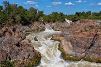 Photo: Laos Reisen, Li Phi Wasserfall