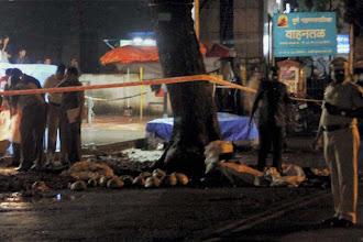Photo: Pune: 1 hurt in 4 minor blasts; 14 states on high alert http://t.in.com/aqHJ