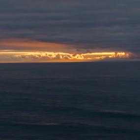 Mosteiro de Seiça by Edu Marques - Landscapes Waterscapes ( clouds, sunset, sea, seascape, sunlight )