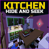 Kitchen Hide and Seek MCPE Map