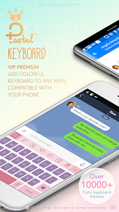 Pastel Keyboard Theme Color Add colorful design 2.2.0 Paid 1
