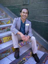 "Photo: Writer-director-marketer Sheridan Tatsuno was among the more than 100 urban hikers joining the ""Walking in San Francisco for History and Health"" meetup that included a visit to the Hidden Garden Steps (16th Avenue, between Kirkham and Lawton streets in San Francisco's Inner Sunset District) on Saturday, February 21, 2014 (http://www.meetup.com/walking-in-SF/events/163612642/).  More information about the meetup group is available at http://www.meetup.com/walking-in-SF/.  For more information about the Steps, please visit our website (http://hiddengardensteps.org), view links about the project from our Scoopit! site (http://www.scoop.it/t/hidden-garden-steps), or follow our social media presence on Twitter (https://twitter.com/GardenSteps), Facebook (https://www.facebook.com/pages/Hidden-Garden-Steps/288064457924739) and many others."