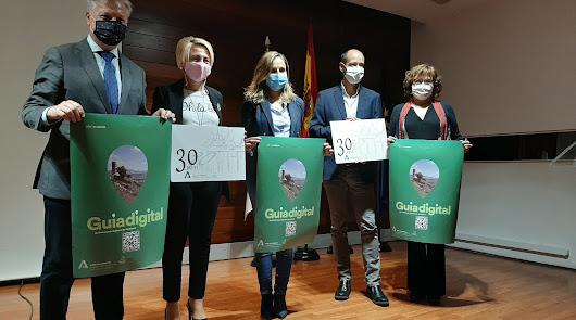 Un código QR para acceder a la Guía Digital del Patrimonio Andaluz