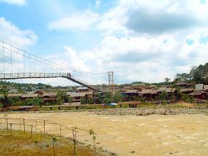 Photo: Bukit Lawang - hanging bridge over the Bahorok River