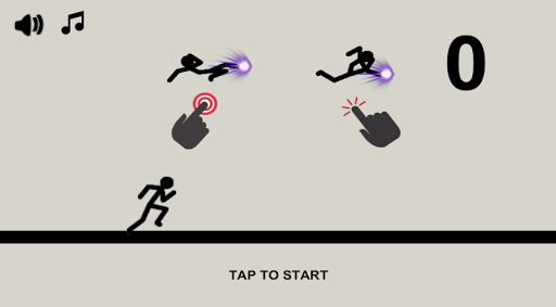 Stickman Run and Jump 0.6 screenshots 1