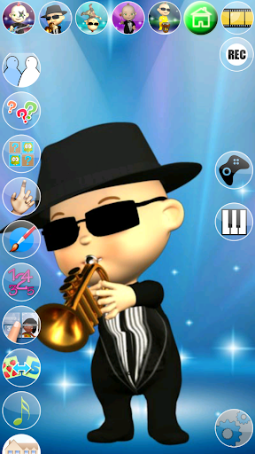 My Talking Baby Music Star 2.31.0 screenshots 4