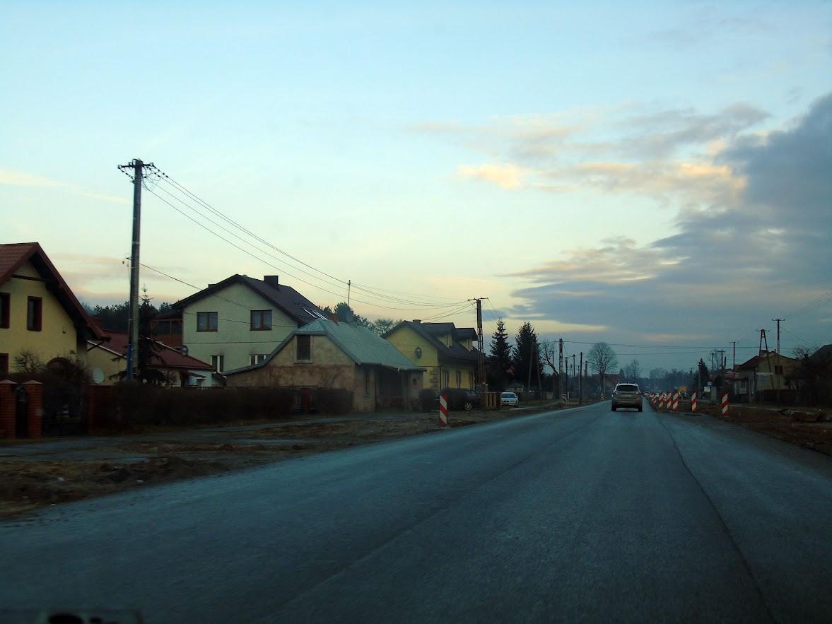 Ulica Bałtowska w budowie Ostrowiec Świętokrzyski