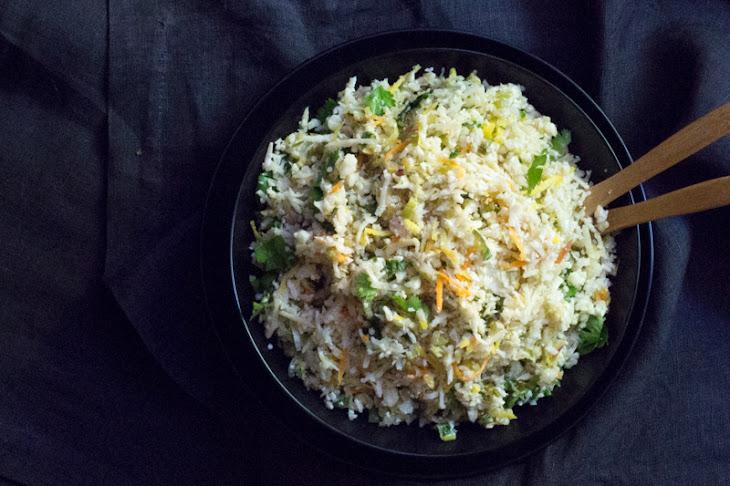 Cilantro-Lime Cauliflower Rice (with Coconut) Recipe