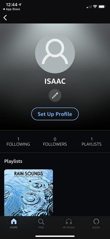 Amazon Music Profile