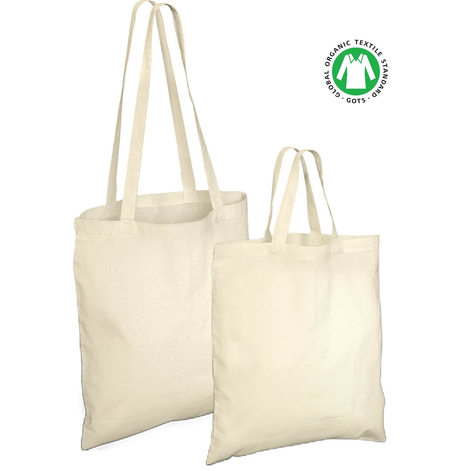 Printed Organic Cotton Bags