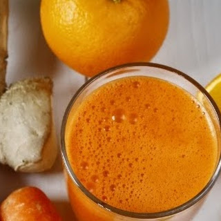 The Booster - Orange, Carrot & Ginger Juice