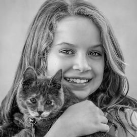 by Judy Rosanno - Black & White Portraits & People
