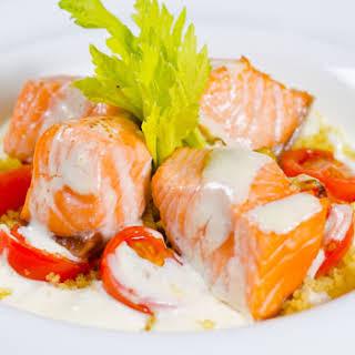 Salmon and Crab Salad.