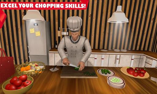 Real Cooking Game 3D-Virtual Kitchen Chef  captures d'u00e9cran 2