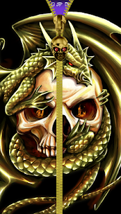 Skull lock screen. 1.0.0.35 Mod + Data Download 1