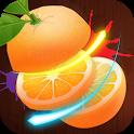 Fruit slice 3D - Chem hoa qua icon