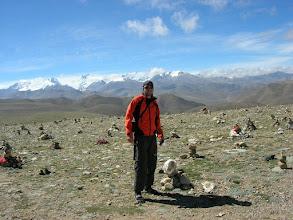 Photo: Lyngve at Lalung-la (5050m) between Nyalam and Tingri