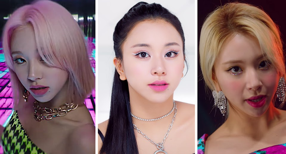 Chaeyoung hairstyles