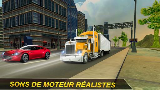 Rapide Camion Chauffeur Simulateur: Hors route  captures d'écran 1