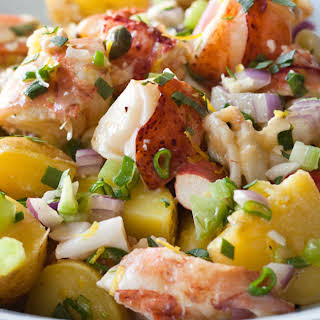 Lobster & Potato Salad.