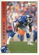 Photo: Bobby Abrams 1992 Pacific RC